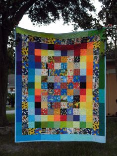 Ryan's Guy Quilt - finished!