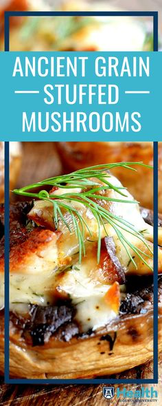 These stuffed mushrooms will steal the show at your next party or gathering. Mushrooms, quinoa and farro are great sources of meatless protein. Plus, the farro and quinoa will add other nutrients like fiber, iron and potassium.