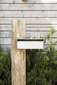 Ideas for house front ideas curb appeal driveways Modern Mailbox, Outdoor Living, Outdoor Decor, Facade House, House Numbers, Beach House Decor, House Front, Curb Appeal, Exterior Design