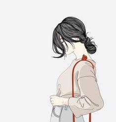 She stood in front of a shopping store vector Cartoon Girl Drawing, Girl Cartoon, Cartoon Art, Digital Art Girl, Aesthetic Drawing, Beautiful Anime Girl, Moon Art, Of Wallpaper, Anime Art Girl