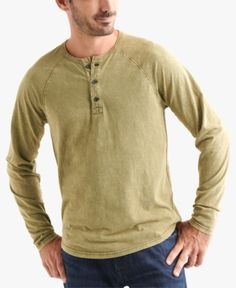 Comaba Mens Fashion Cotton Non-Iron Chambray Relaxed Striped T-Shirts