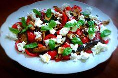 Salade de légumes à la mozzarella