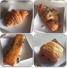 Croissant. Almond Croissant, Chocolate, Swiss Brioche. YUM!