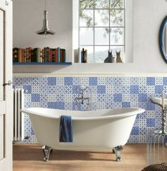 Obklady » rozdělení dle stylu » obklady rustikální/zdobené » DAVITA retro obklady mix dekorů   Koupelnové studio EDEN Koupelny