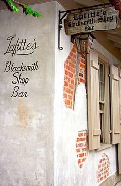 French Quarter - Lafitte Blacksmith Shop Bar