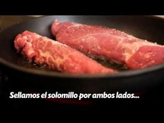 Solomillo de cerdo asado con miel y mostaza Meat Chickens, Beef Dishes, Lamb, Steak, Food And Drink, Favorite Recipes, Cooking, Salads, Baked Pork Loin