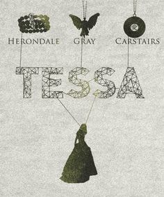 So what will she do when she marries Jem? Go by Tessa Gray-Herondale-Carstairs? Or maybe just Tessa Herondale-Carstairs? I prefer the latter.
