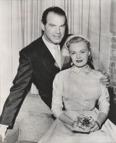 Fred MacMurray and June Haver