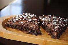 Triple Chocolate Scones- chocolate wasted breakfast scones...@shugarysweets