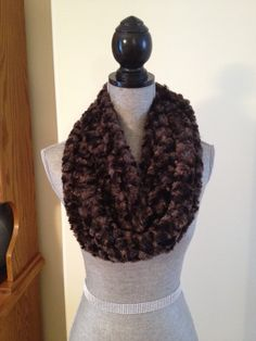 Luxury Plush Infinity Scarf in Chocolate: $20.00   This scarf is made from a soft plush fabric that layers beautifully and feels gentle against the skin. It is also slightly longer than our regular infinity scarves. Infinity, Layers, Feels, Scarves, Plush, Chocolate, Luxury, Fabric, Beauty