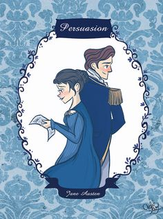 Persuasion by Jane Austen (Illustrated by ChihAriel)