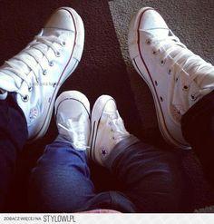 5b4f3ec5cdbf Weiße Converse Chucks! Sneaker von New Balance