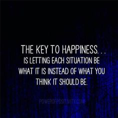 The key to happiness - 20 happiness Quotes