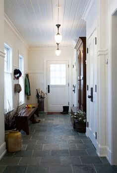 Mudrooms traditional entry