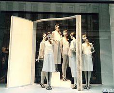 "ZARA,Regent Street, London, UK, ""Good Clothes Open All Doors"", photo by The Displayer, pinned by Ton van der Veer"