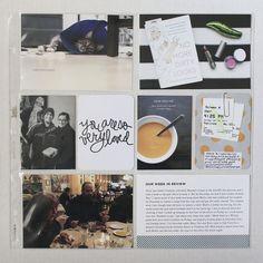 Roots, Wings & Wanderings: Project Life Week 3, Left Side