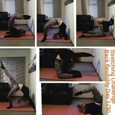 Here is a few challenging back flexibility stretches to try.