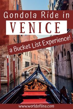 A gondola ride in Venice is something that should be on everyone's bucket list! Read everything about my experience here. #venezia #venice #italy #europe | Travel to Venice | Italy Travel | Europe Travel