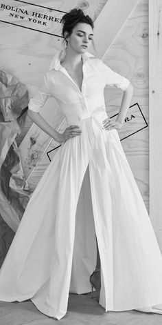 The Prettiest Spring 2017 Wedding Dresses from Bridal Fashion Week - Carolina Herrera from InStyle.com