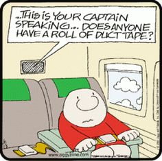 Things you don't want to hear on an airplane...