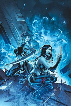 X-23 / Laura Kinney and Mercury / Cessily Kincaid - women-of-the-x Photo