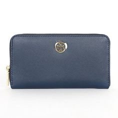 Tory Burch Saffiano Leather Zip Continental Wallet Hudson Bay