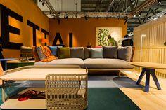 Trendoffice: Outdoor furniture at Milan Design Week 2014. Patricia Urquiola. Kettal. Mesh.