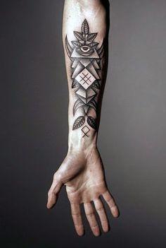 30 hình xăm tinh tế ở cổ tay cho nam - 30 Wrist Tattoos For Men