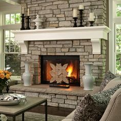 Fireplace deco