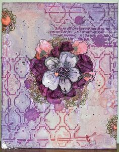 MvM-Scrapdesigns: Canvas made with Art Anthology products.
