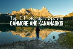 Capture postcard worthy photos on your trip through the Canadian Rockies. Find out the best photography spots in Canmore and Kananaskis Country. Photography Guide, Amazing Photography, Travel Photography, Hiking Guide, Canadian Rockies, Banff, Canada Travel, Cool Photos, Road Trip