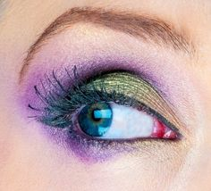 #Purple and #Green #eye #makeup