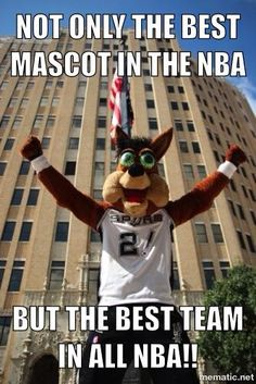 We are # 1 no matter what.  Go Spurs Go!!!!