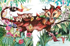 Good Wives & Warriors | Illustrator | Central Illustration  #decorative #animal #design #illustration #illustrator #goodwivesandwarriors #cia #decorative #cursivetype #product #packaging #book #cover
