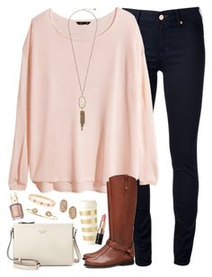 """I got some free time and couldn't sleep so this happened // 2.13.16"" by ellekathleen ❤ liked on Polyvore featuring Marc by Marc Jacobs, H&M, Kendra Scott, Essie, Tory Burch, Cartier, Tai, Kate Spade, Bobbi Brown Cosmetics and women's clothing"