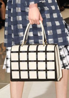 The Spring 2013 Accessories Report - Black and White - Marni