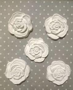 Rosa in gesso ceramico, by Le creazioni di Milù, 0,50 € su misshobby.com