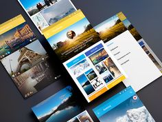 Travel App Material Design