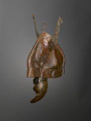 Bronze pilos helmet from South Italic panoply