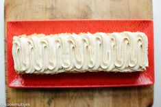 Speculaastaart (no bake) | Kookmutsjes Time To Celebrate, Sweet Tooth, Tray, Baking, Desserts, Seeds, Tailgate Desserts, Patisserie, Backen