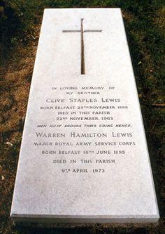 C.S. Lewis's grave
