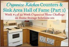Kitchen Organization: Step By Step Guide organize kitchen counters hall of fame, kitchenorganisation Kitchen Organisation, Home Organization, Diy Kitchen, Kitchen Counters, Kitchen Ideas, Declutter Home, Organizing Labels, Organizing Ideas, Canning Labels
