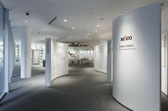 ntec product gallery & lounge by nakano design office - Google Search