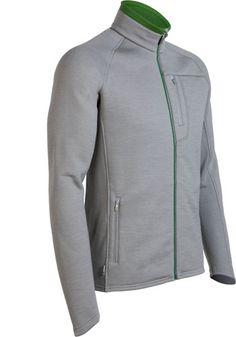 Icebreaker Kodiak Zip M Fossil - M-L-XL | Vesten/jasjes lange en korte mouw | MOOSECAMPwebshop