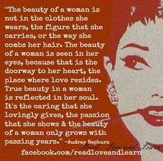 Definition of a beautiful woman...