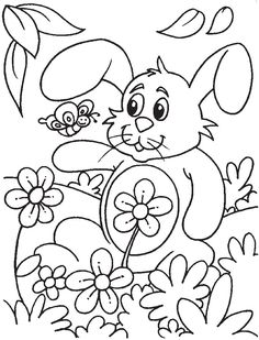 Printable Spring Coloring Pages Inspirational Spring Printables Cross Coloring Page, Spring Coloring Pages, Easy Coloring Pages, Coloring Sheets For Kids, Online Coloring Pages, Flower Coloring Pages, Printable Coloring Pages, Coloring Books, Shopkins Colouring Pages