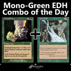 Our EDH Commander combo of the day! Do you play this in any of your decks? Mtg Memes, Magic The Gathering Karten, Mtg Altered Art, Thing 1, Card Tricks, Magic Cards, Call Of Duty Black, Funny Cards, Deck Of Cards