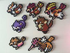 Pokemon Gen 1 16-22: Pidgey Pidgeotto Pidgeot by PixelPrecious