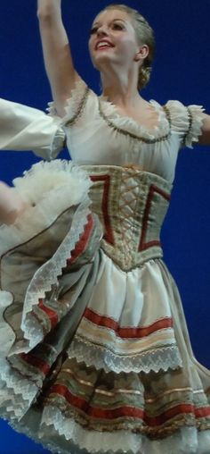 Romantic Tutu for 'Giselle'- I like the trimmings and the idea of the under bust…