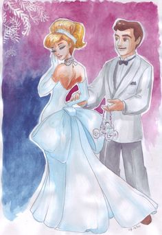 Cinderella and Charming.